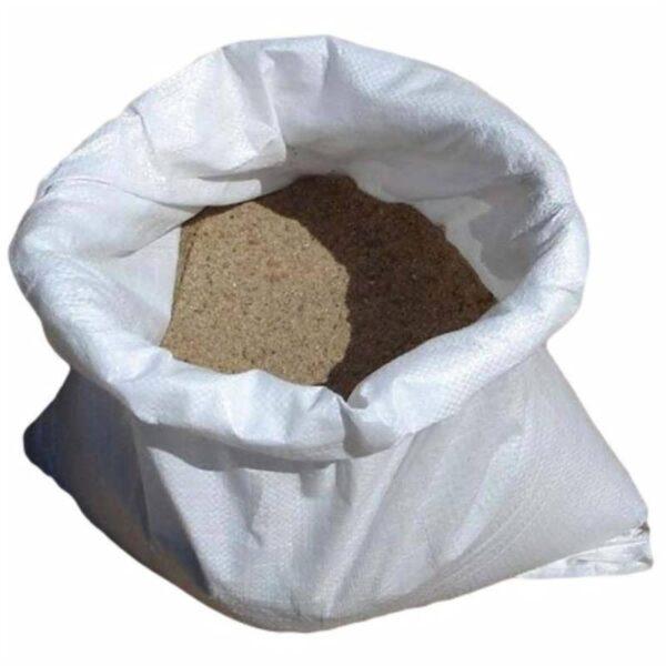 Песок сеяный в мешках